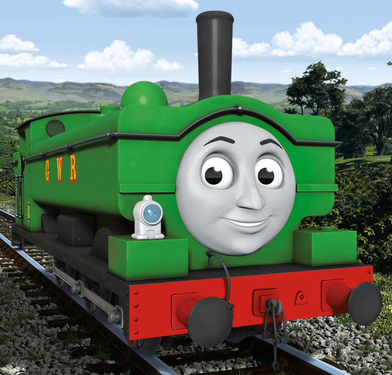 Thomas And Friends Toby Cgi