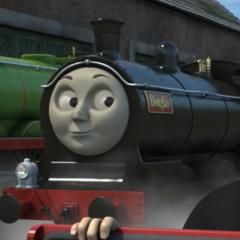 Douglas in The Great Race