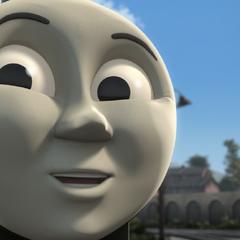 Edward in The Great Race