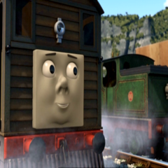 Toby in Misty Island Rescue
