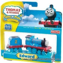 Edward in Take-n-Play packaging