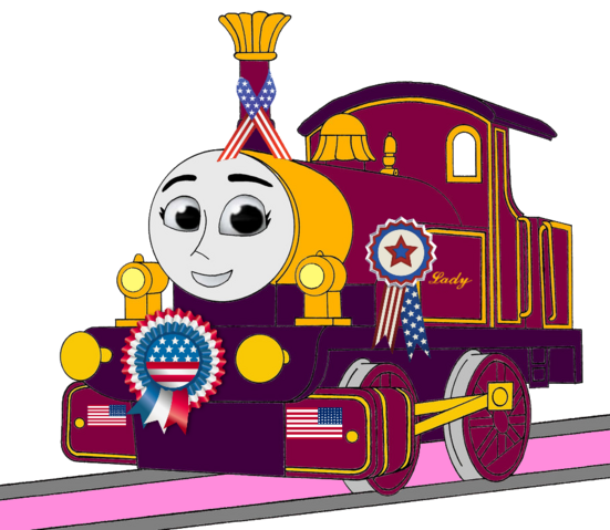 File:Lady with 4th of July Decorations (Mirrored).png