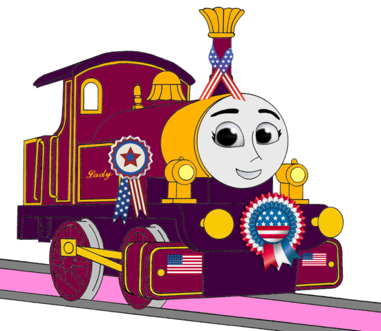 File:Lady with 4th of July Decorations.png