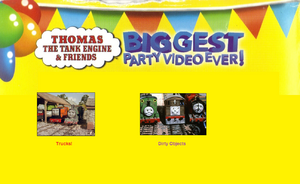 Thomas The Tank Engine and Friends - Biggest Party Video Ever! (1998) - Scene Selection 7