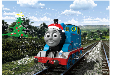 Navidad 2012 con Thomas y sus Amigos!