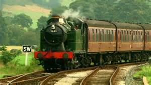 Llangollen Railway engine