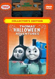 Thomas'HalloweenAdventuresCollector'sEditionDVDwithHauntedCaboose