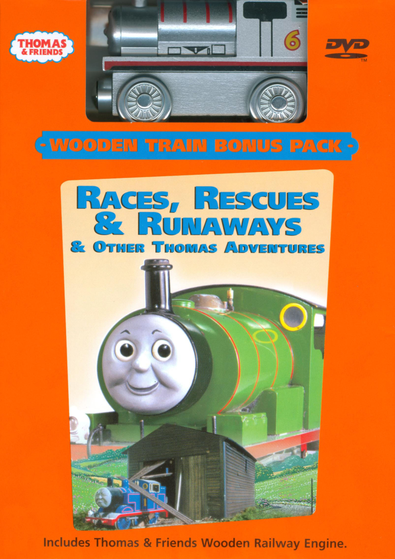 Races,RescuesandRunawaysDVDwithSilverPercy