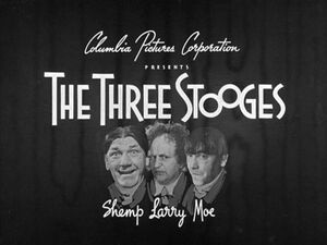 Three Stooges Intro Card 1952