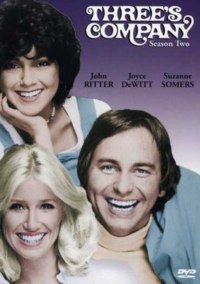 Three's Company Season 2 DVD cover