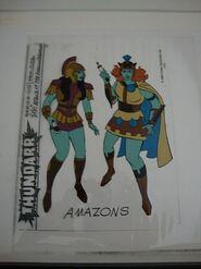 Amazons Model Sheet