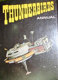 Thunderbirds Annual 1971 (back)