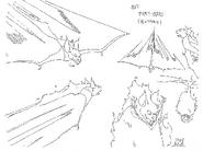 Original Concept Art - Fire Bat - 001