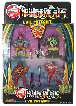 Kidworks Villain 4 Pack