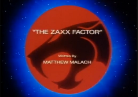 The Zaxx Factor - Title Card