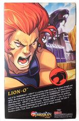 Mattel Lion-O Box Back