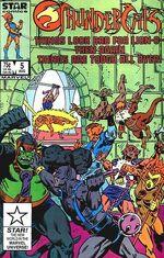 Thundercat comic US 5