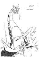 Original Concept Art - Sea Serpent - 003