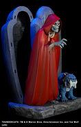Hard Hero Mumm-Ra and Ma-Mutt Statue - 003