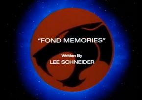 Fond Memories - Title Card