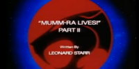Mumm-Ra Lives! - Part II