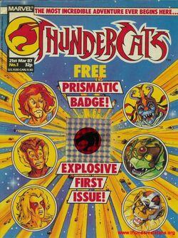 ThunderCats (UK) - 001