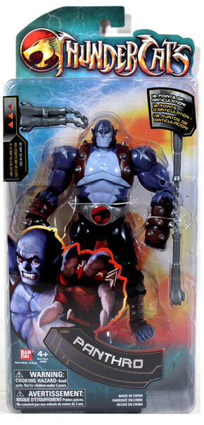 Bandai Panthro 6 Inches Box