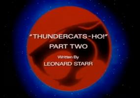 Thundercats Ho - Part II - Title Card
