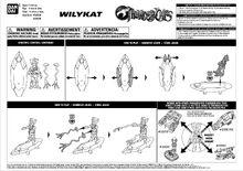 Bandai ThunderCats WilyKat Action Figure Instructions - 01