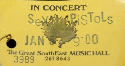 Sex Pistols Ticket 110