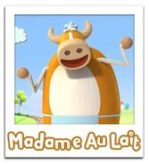 Madame Au Lait photo card