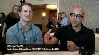 Freddie Stroma & Marcos Siega TIME AFTER TIME Interview Comic Con 2016