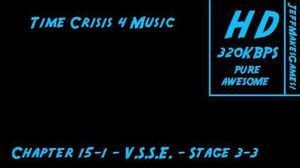 Time Crisis 4 Music - Chapter 15-1 - Arcade - Stage 3-3