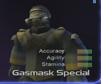 Gasmask Special Character Select