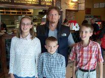 Tim hawkins w. family