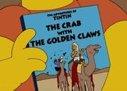 Simpsons Crab with the Golden Claws
