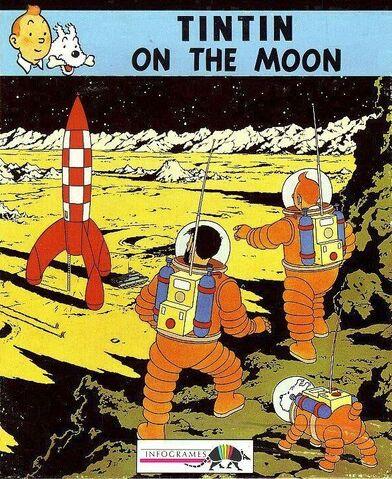 File:Tintin on the Moon.jpg