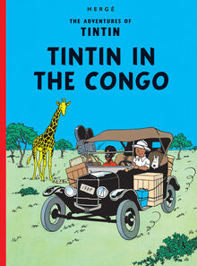 Tintin in the Congo Egmont hardcover