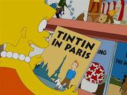 Tintin In Paris