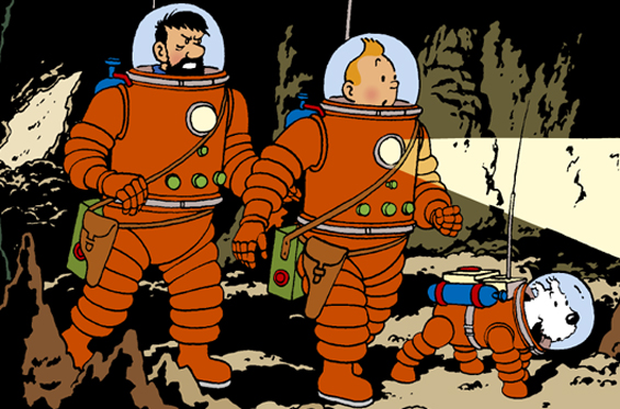 File:Tintin in the cave.jpg