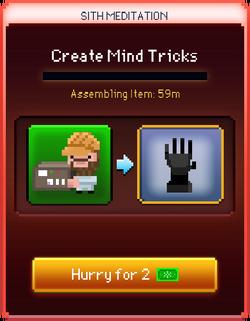 Mind Tricks start