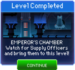 Message Emperor's Chamber Complete