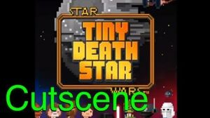 Scene Obi-Wan Kenobi and Tractor Beam (Star Wars Tiny Death Star)