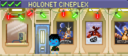 Decorated Holonet Cineplex