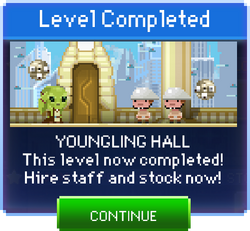 Message Youngling Hall Complete