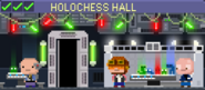 Decorated Holochess Hall