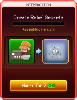 Rebel Secrets start