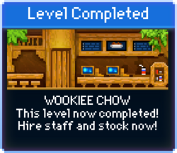 Message Wookiee Chow Complete