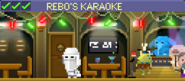 Decorated Rebo's Karaoke