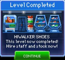 Message Hiwalker Shoes Complete